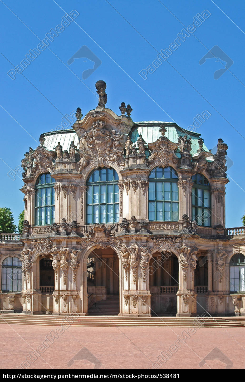zwinger, -, wallpavillon - 538481
