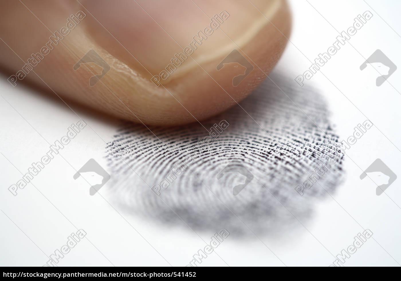 fingerprint - 541452