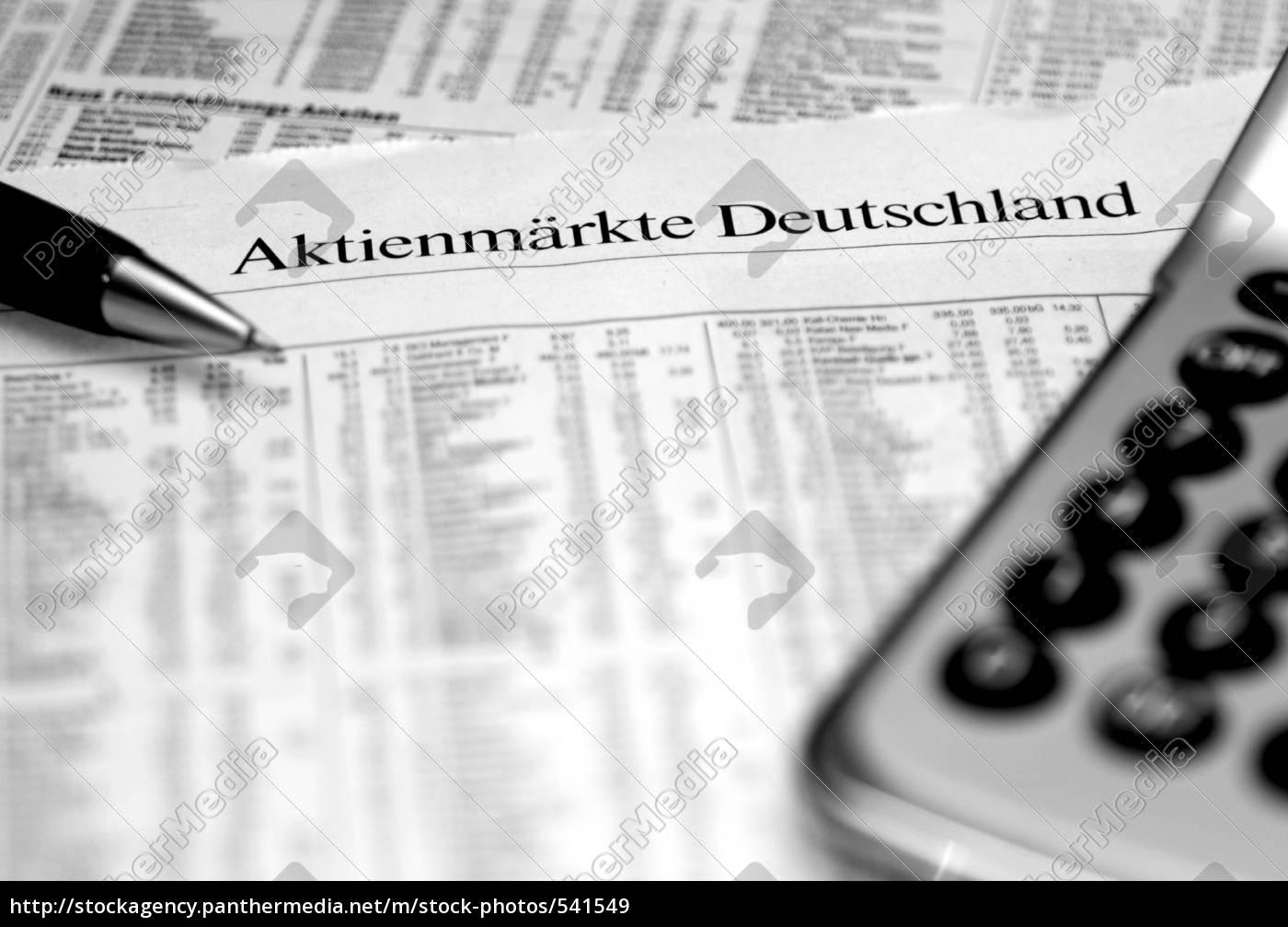 germany, stock, market - 541549