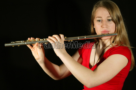 girl, with, flute - 541209