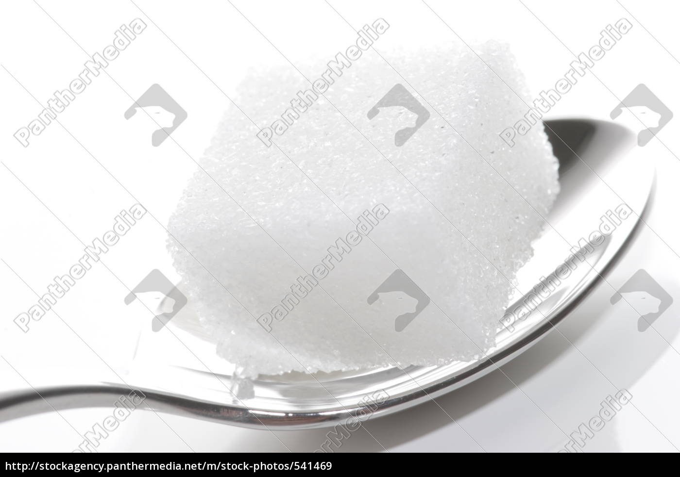sugar, cubes, on, a, teaspoon - 541469