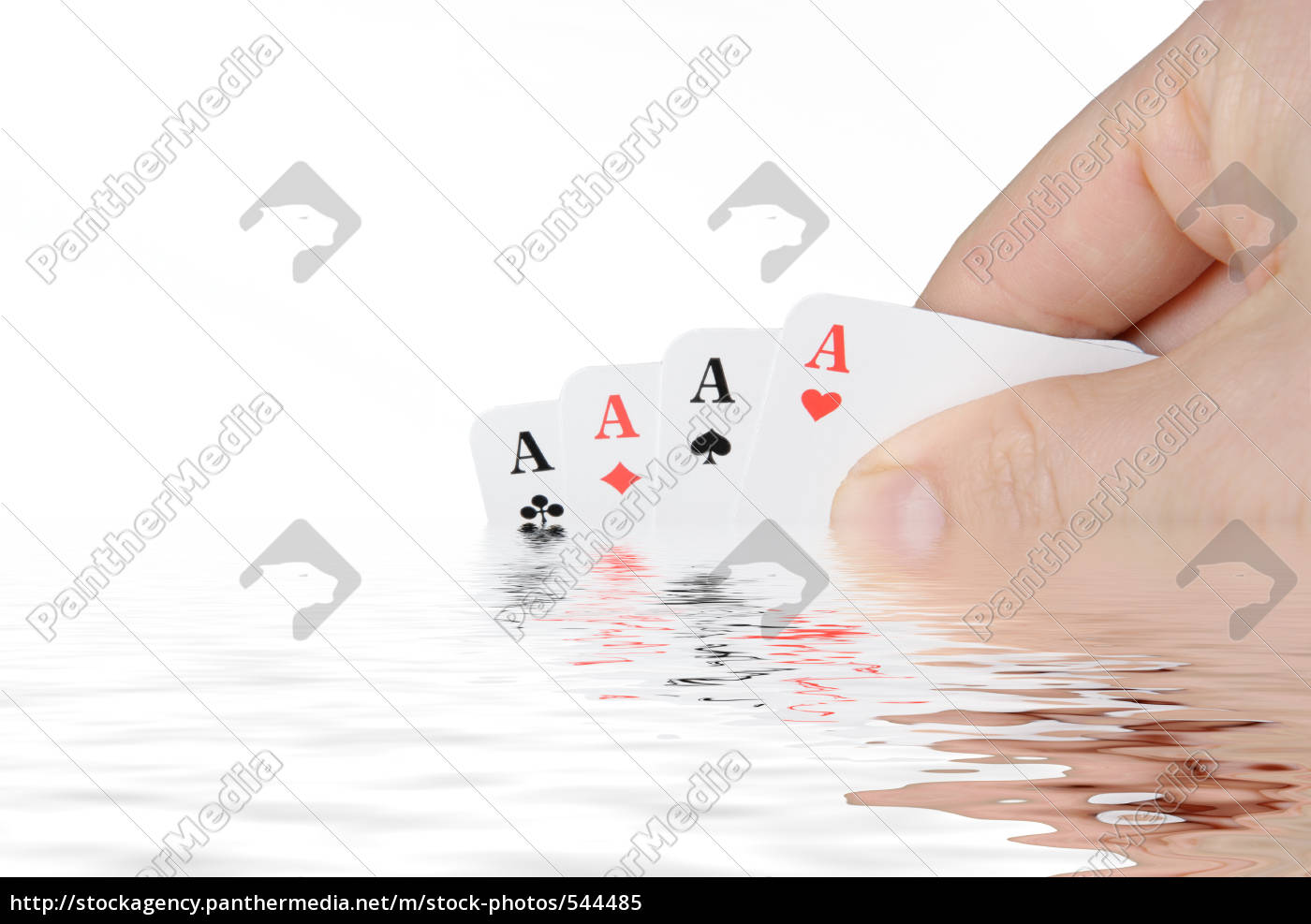 aces, are, reflected, in, the, water - 544485