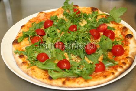 pizza, dolce, vita - 544489