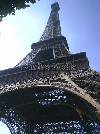 eiffel tower with a difference