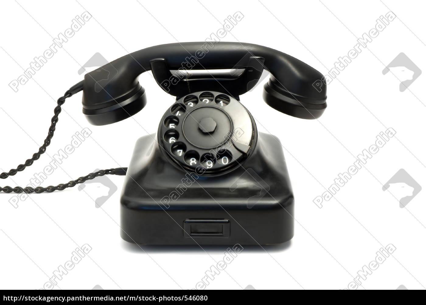 black, old, phone - 546080