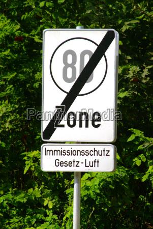 traffic sign speed limit