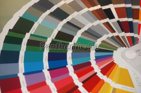 farbfächer - 551108