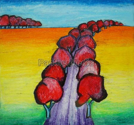exodus of red trees
