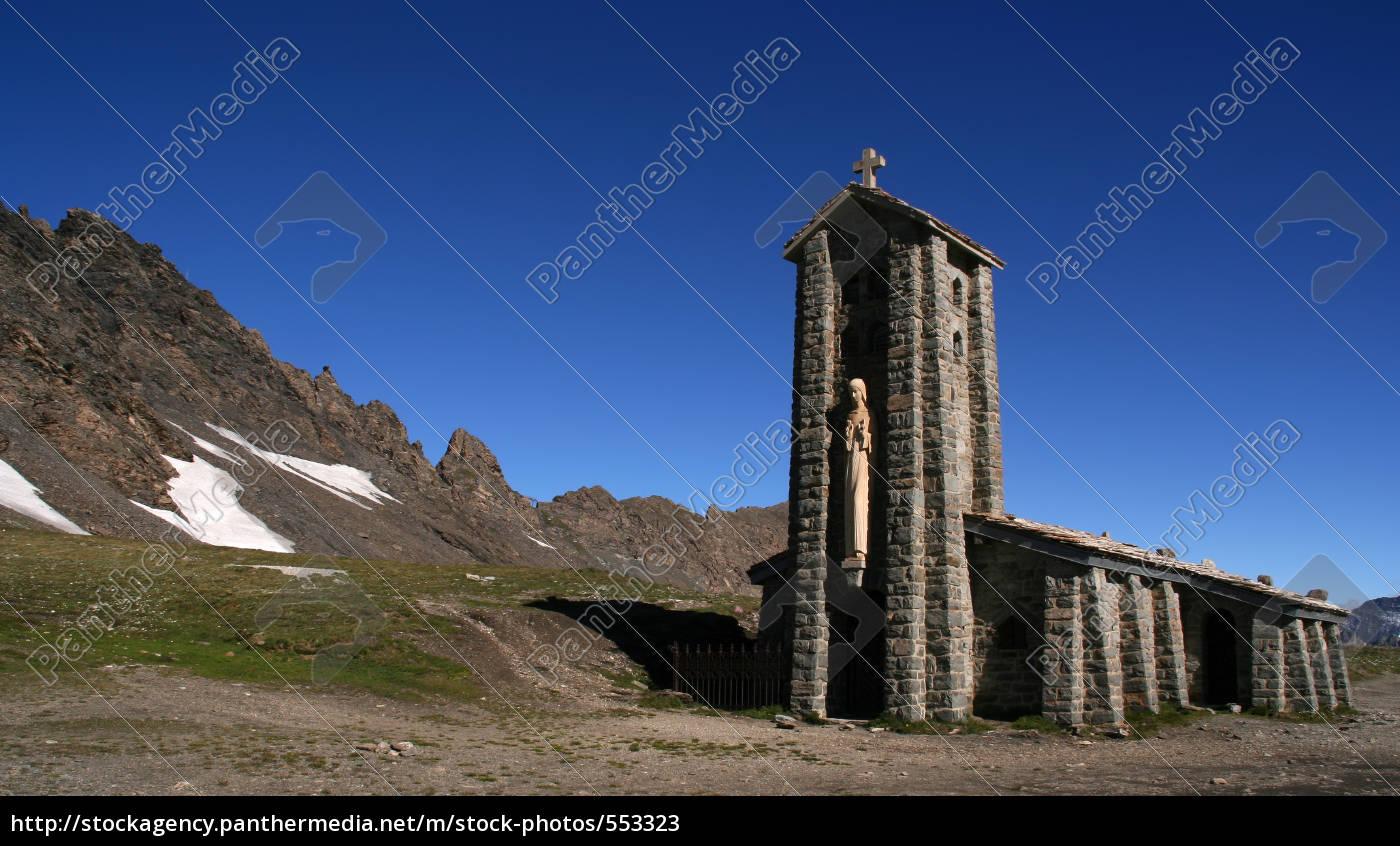 mountain, church - 553323