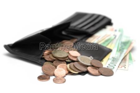 open money bag