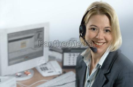 agente del call center
