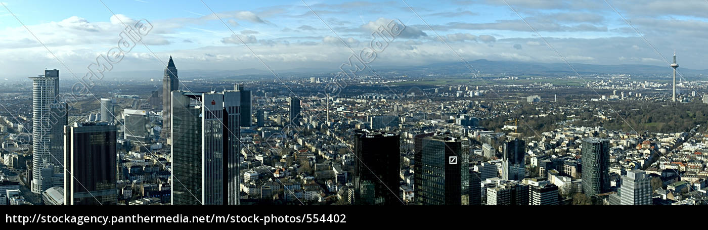 frankfurt, panorama - 554402