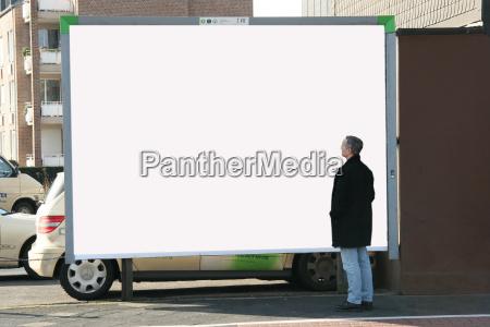 man, with, billboard, 4 - 554464