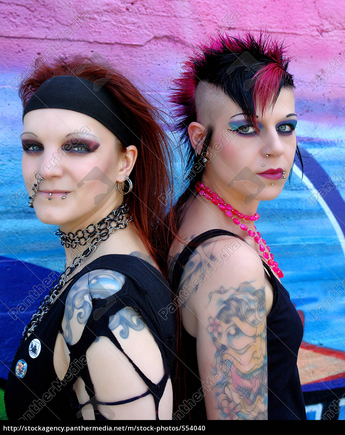 punk, sisters - 554040