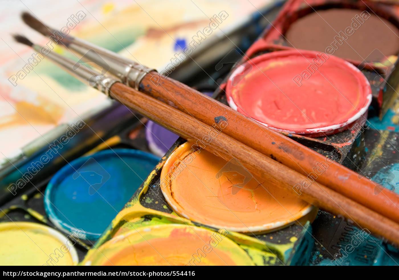 watercolors, (detail) - 554416