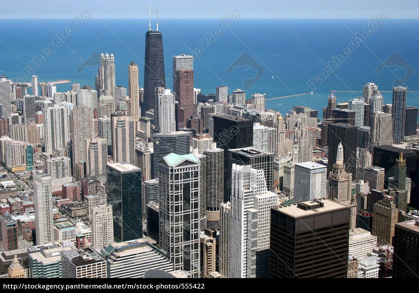 chicago, -, from, above - 555422