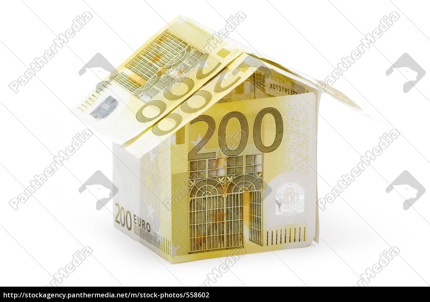 200, euro, cottage - 558602