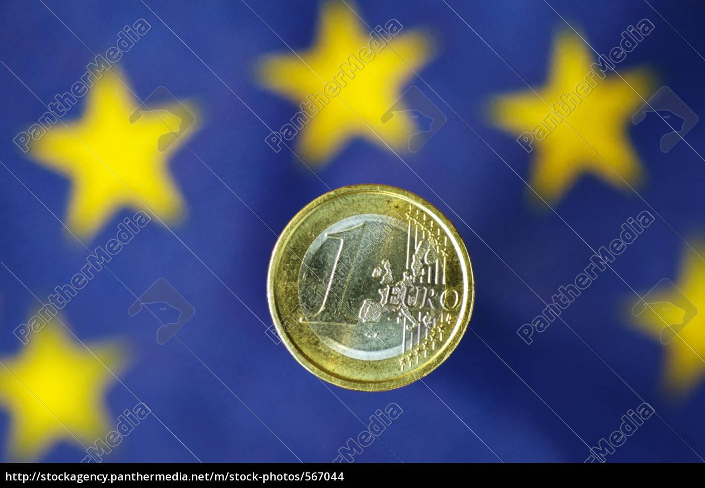 euro, with, eu, flag - 567044