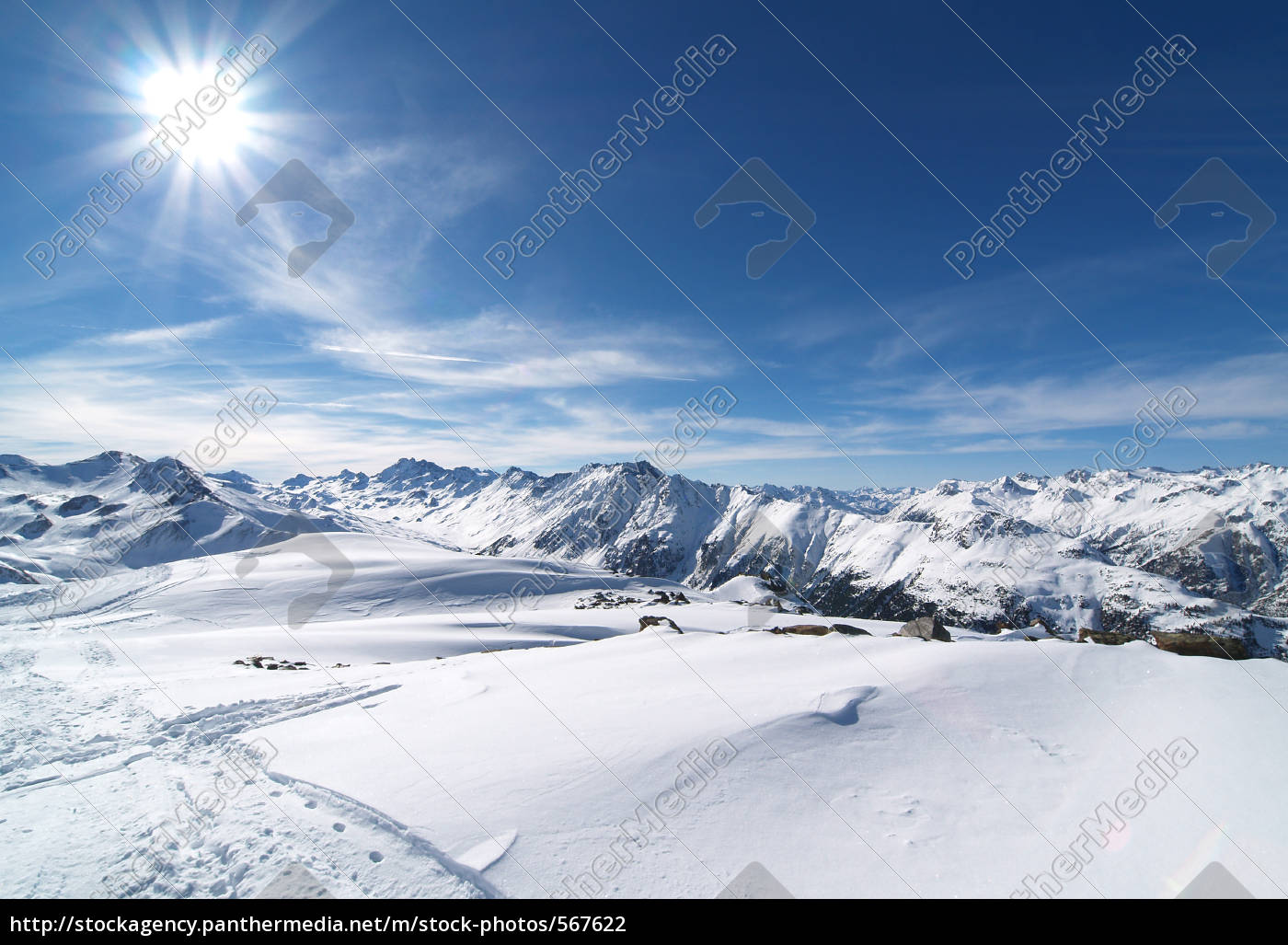 mountain, winter - 567622