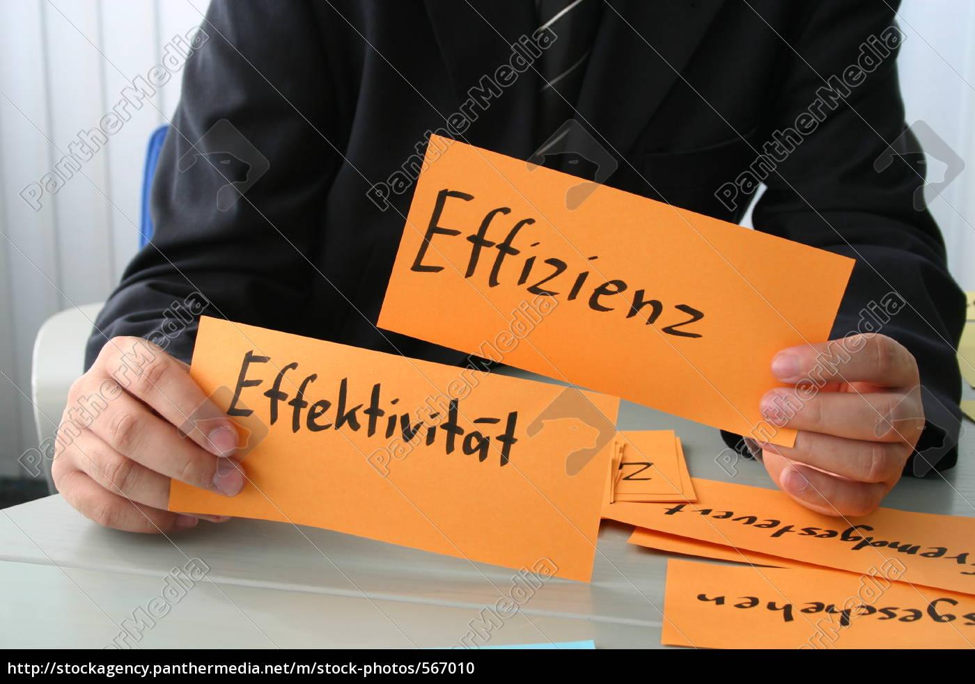 signs, efficiency, effectiveness - 567010