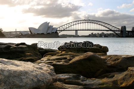 sydney, opera, house, and, harbour, bridge - 567371