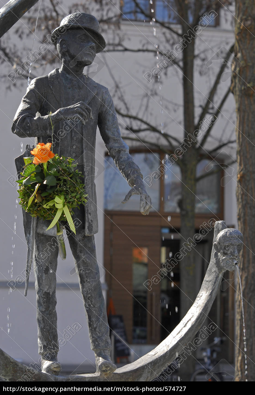 karl, valentin, fountain - 574727