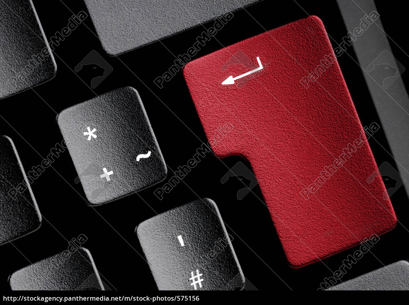 keyboard, with, red, button - 575156