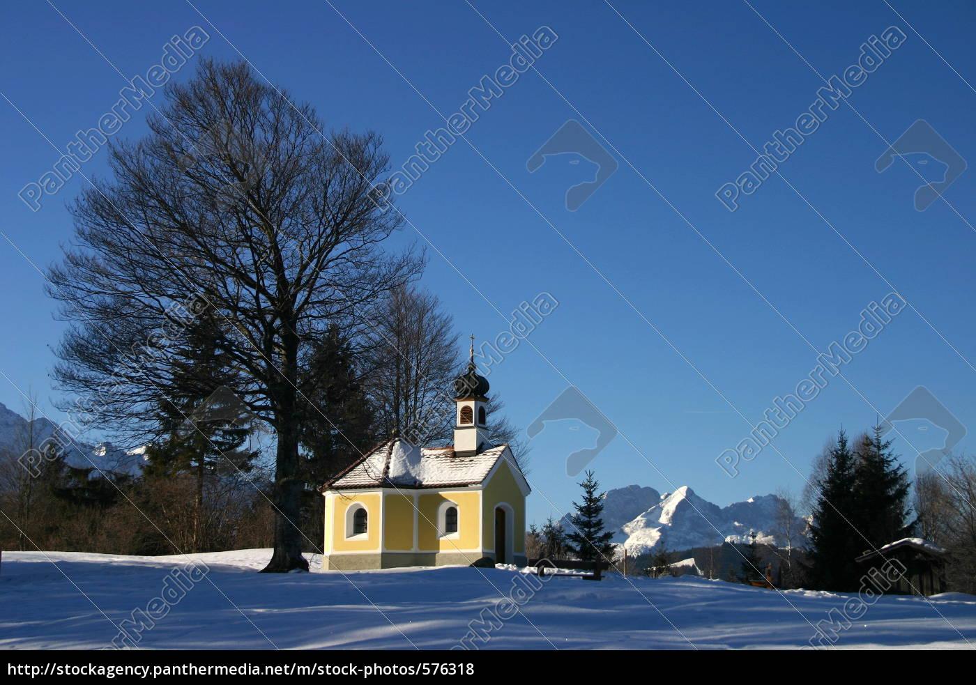 chapel, maria, rast, in, the, buckelwiesen - 576318
