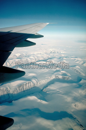 flight over the ice