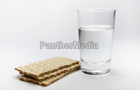 with, water, and, bread - 577213