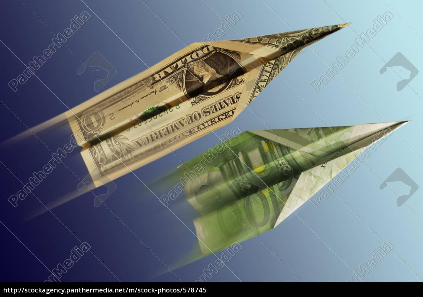 dollar, versus, euro - 578745