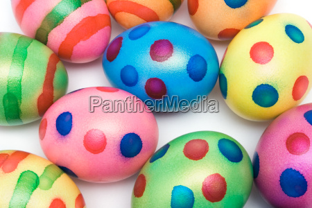 colorful, easter, eggs - 580234