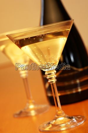 glass, with, champagne - 580080