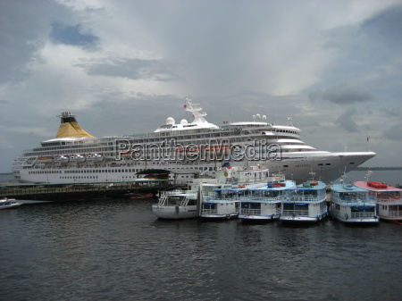 passenger ship visiting manaus am
