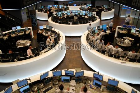the stock exchange in frankfurt am