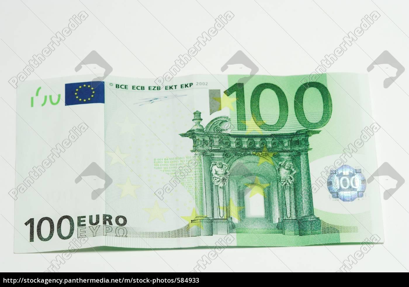 100, euros - 584933