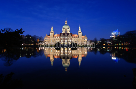 neues, rathaus, hannover - 585762