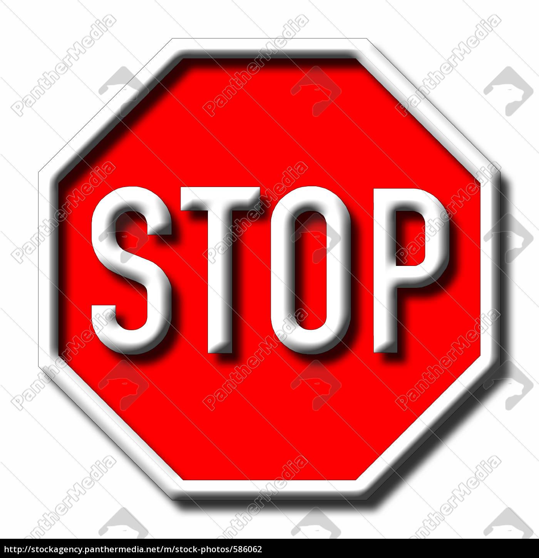 stop - 586062