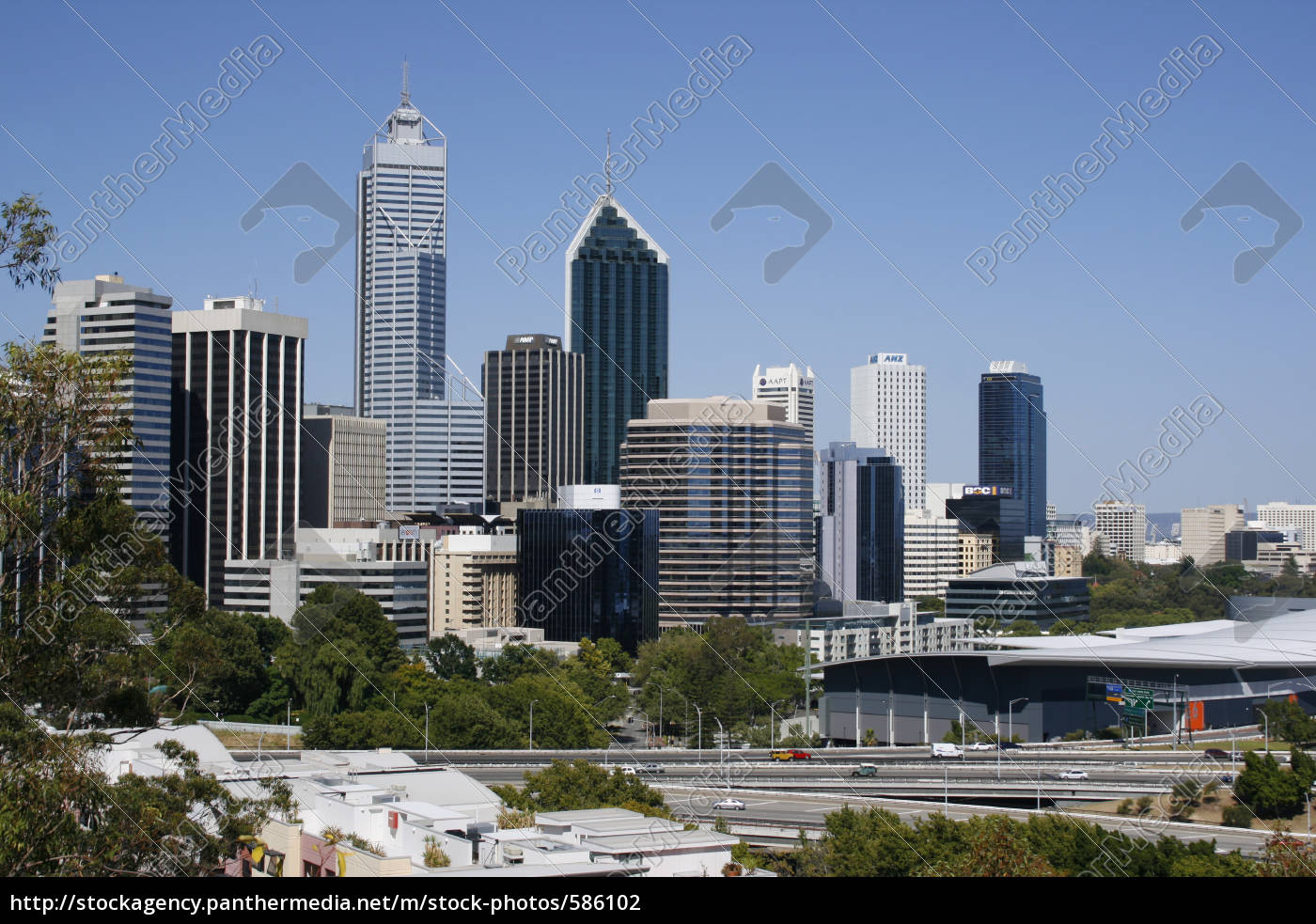 view, from, kings, park - 586102