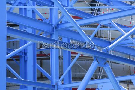 blue steel skeleton