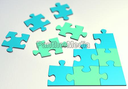 color, puzzle, pink - 589706