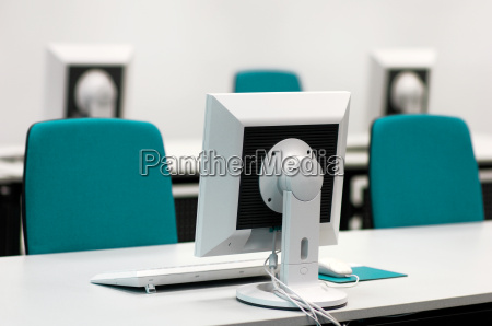 computer, workstations, in, a, training, session - 589359
