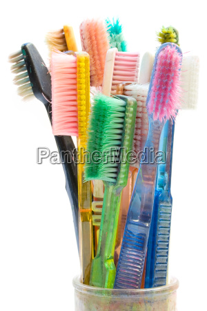 colorful, toothbrushes - 595180