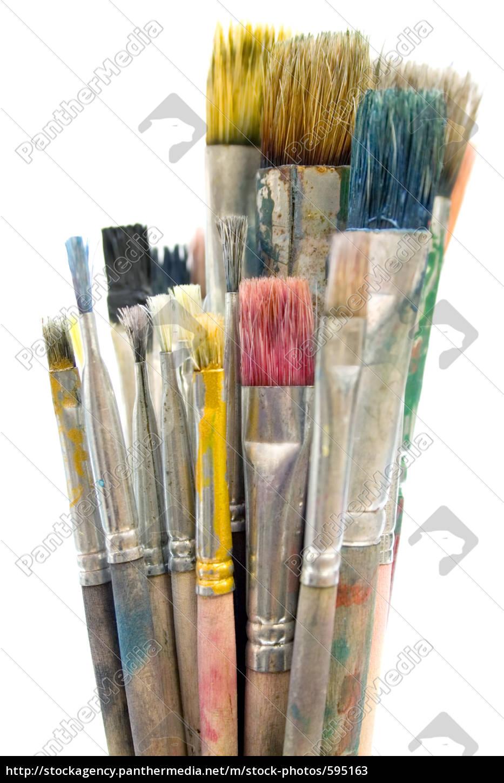 dirty, paintbrush - 595163