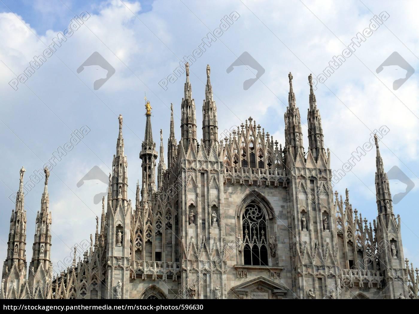 milan, cathedral - 596630