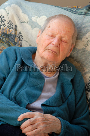 granny, in, napping, 2 - 599274