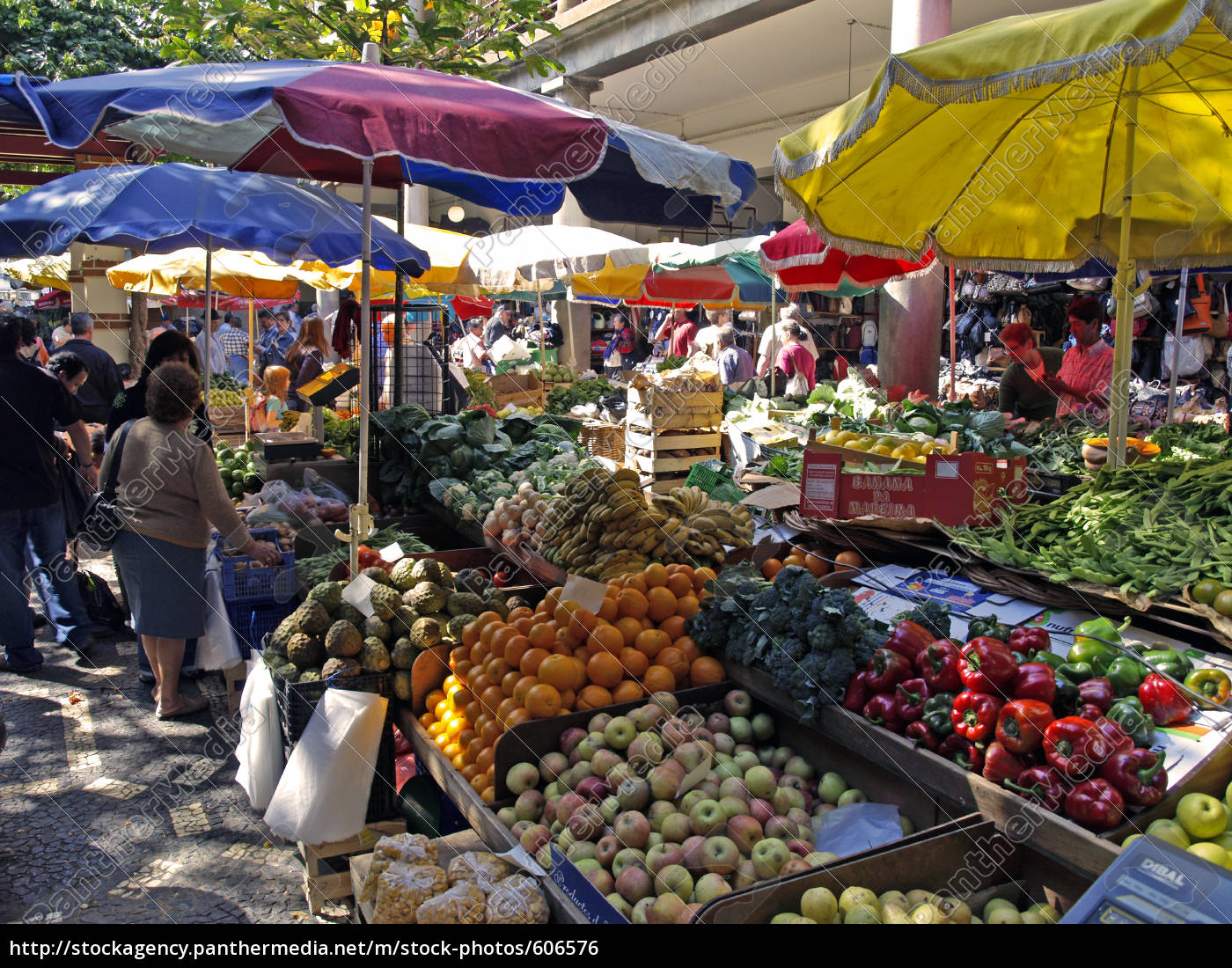 market, in, funchal, madeira - 606576