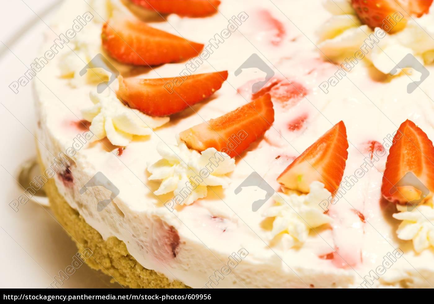 strawberry, quark, cake - 609956