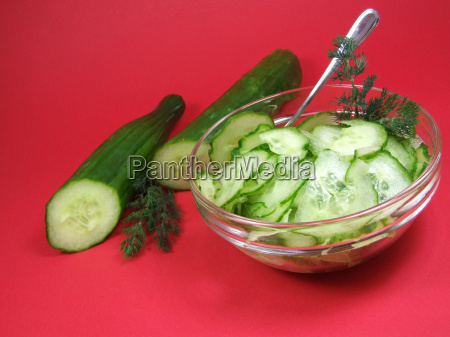 cucumber, salad - 614543