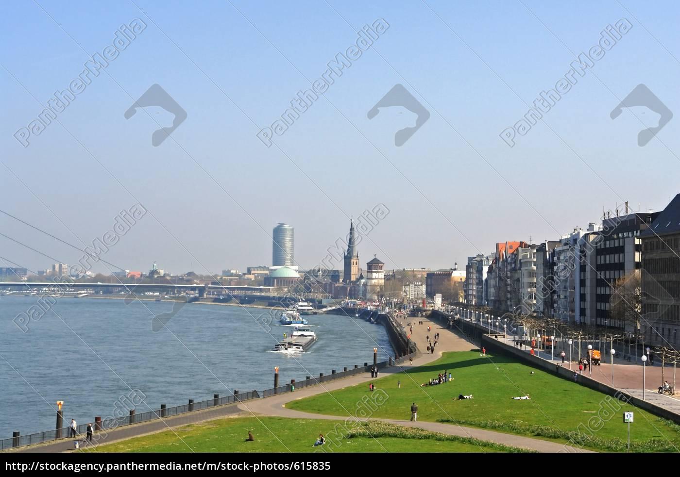 rhine, promenade - 615835